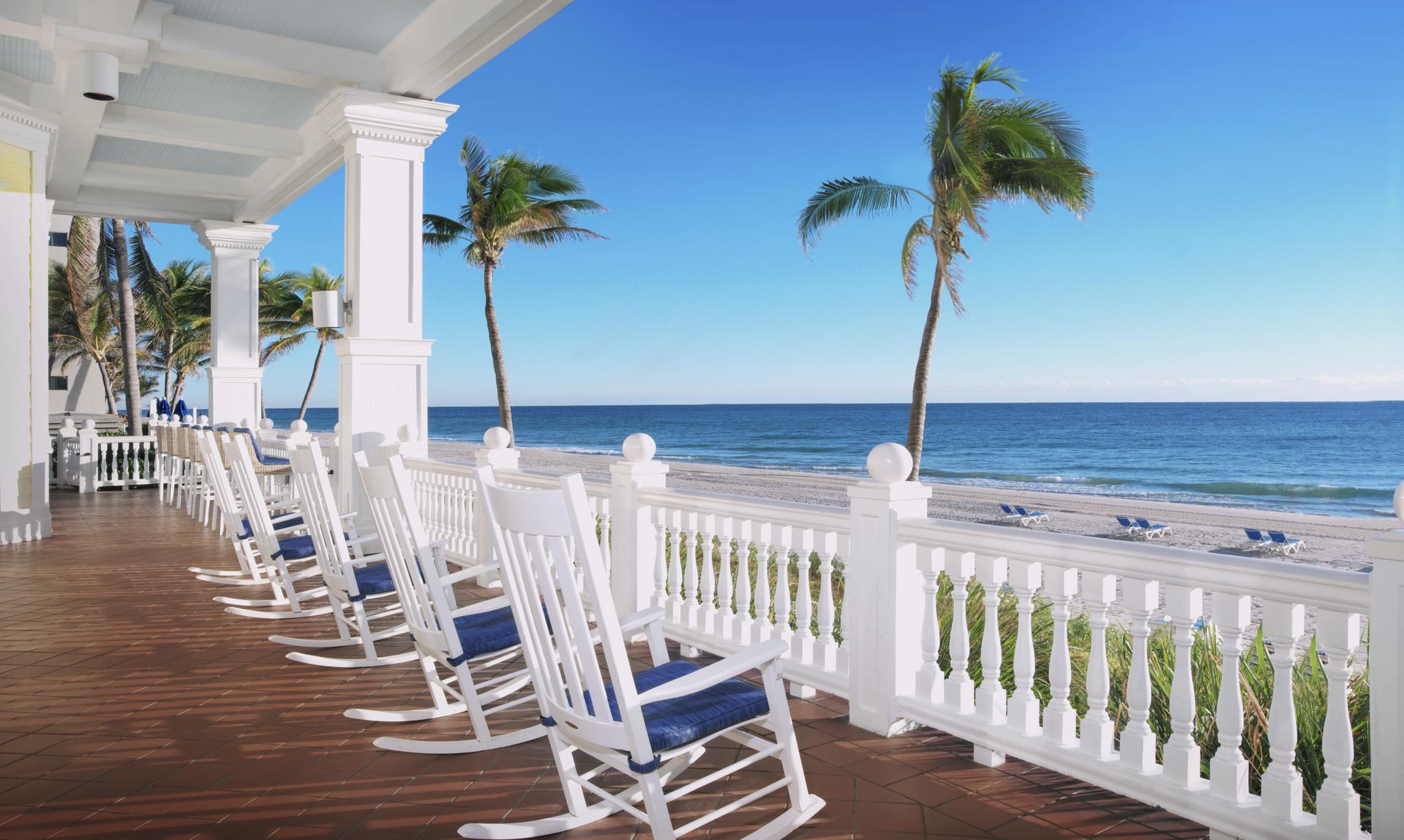 perfect view patio Pelican Grand Beach Resort